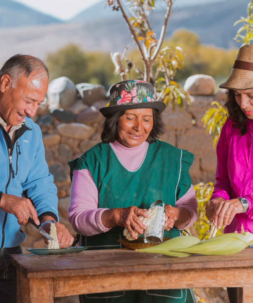 Travel to north of argentina and meet locals Salta