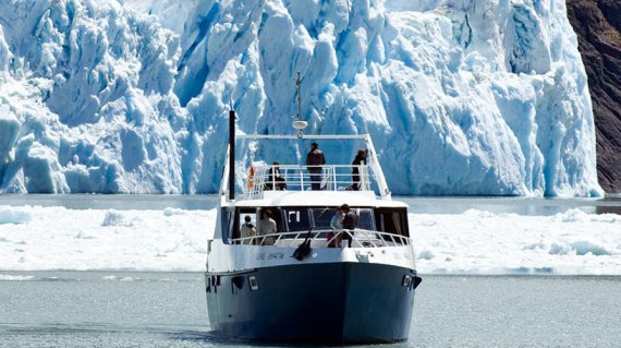 Navegation Glacier d'Upsala