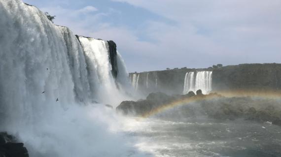 Cataratas del lado brasilero