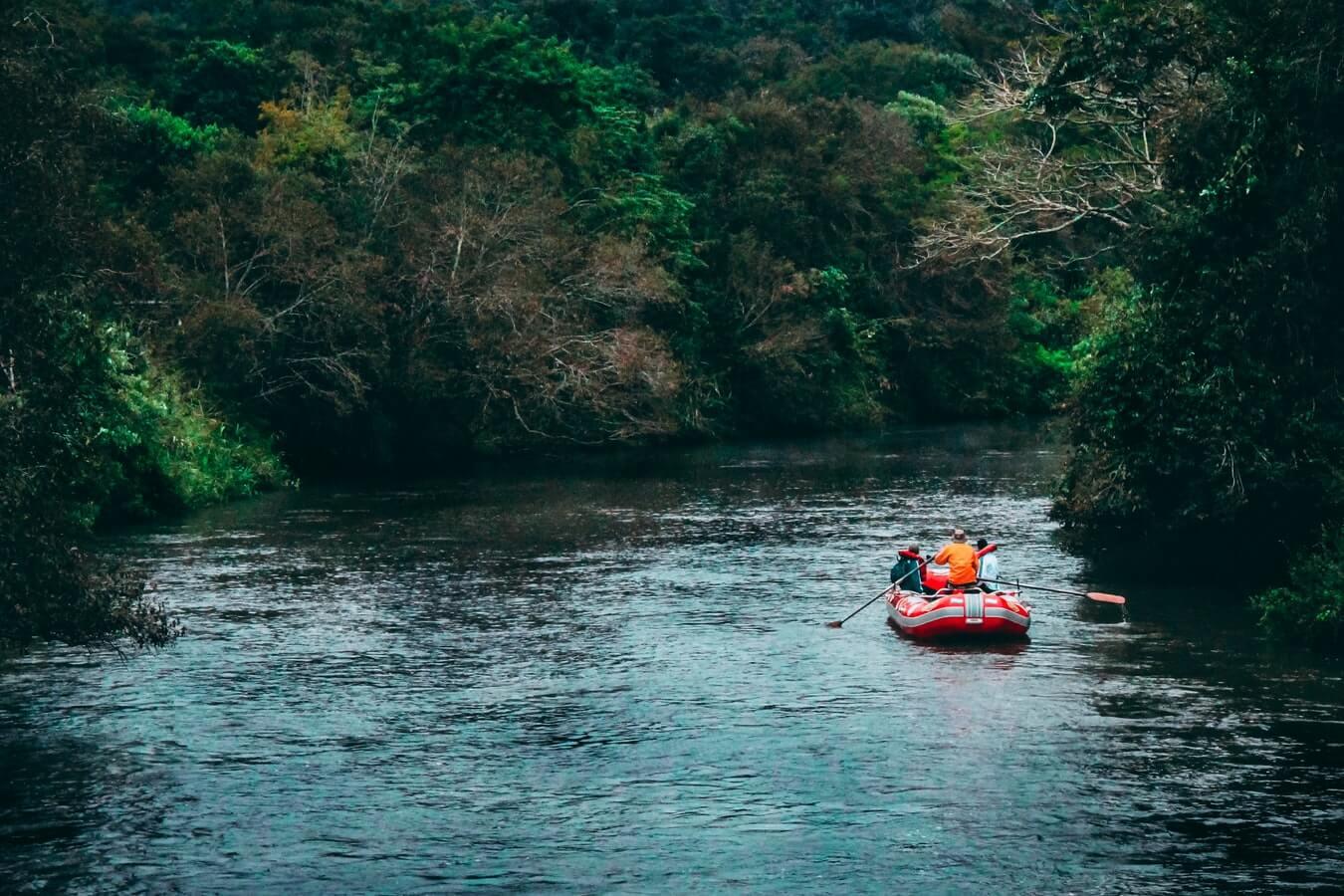 Navegación en Iguazú