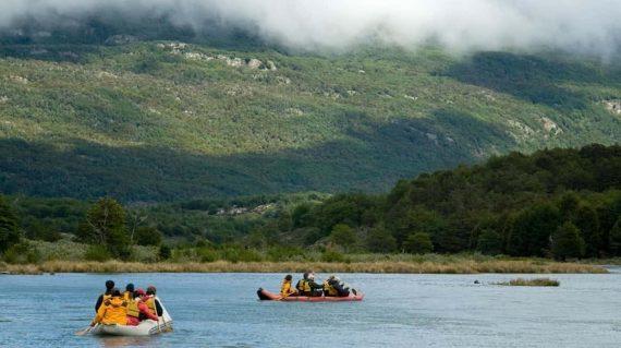 Kayak en Parque Nacional Tierra de Fuego