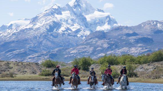 Cabalgata en Parque Nacional Los Glaciares